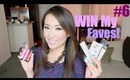 My Favorite Makeup Products - WIN THEM! : ) GIVEAWAY #6