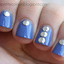 Studded Blue