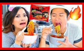 EXTREME SPICY NOODLE CHALLENGE! (Nuclear Fire 2x)