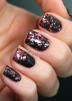 The cutest Valentine's Day polish!  http://www.dressedupnails.com/2013/02/cagedbird-nail-lacquer-lovesome.html