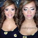 Prom hair & Makeup by me