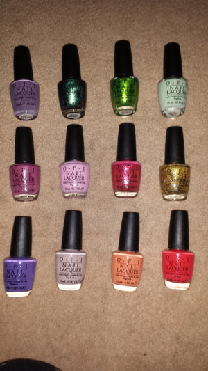 yay my opi hawaii collection just arrived!