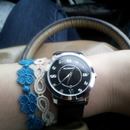 My watch and Cruciani bracelets