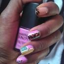Pastel Color Block & Cheetah<3