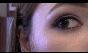 How to: winged (cat-eye) eyeliner tutorial