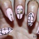 Geometric Striping Tape Nails