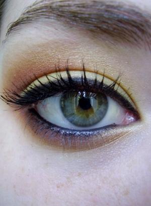 fierry summer eyeshadow