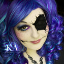 Broken Doll Halloween Makeup (with tutorial)