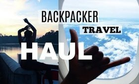 HUGE BACKPACKER TRAVEL HAUL // DECATHLON | JANET NIMUNDELE