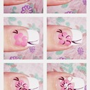 Cherry flower tutorial