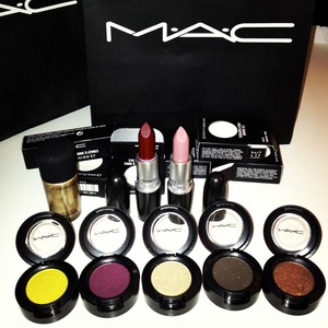 In love with this fall Collection from Mac