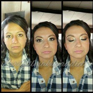 Bridal makeup.  @lovelylilmakupaddict