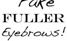 Eyebrow Tutorial- How to fake fuller brows!