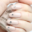 Nude Nails with a hint of Sparkle.