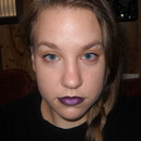 Black and Purple Lips