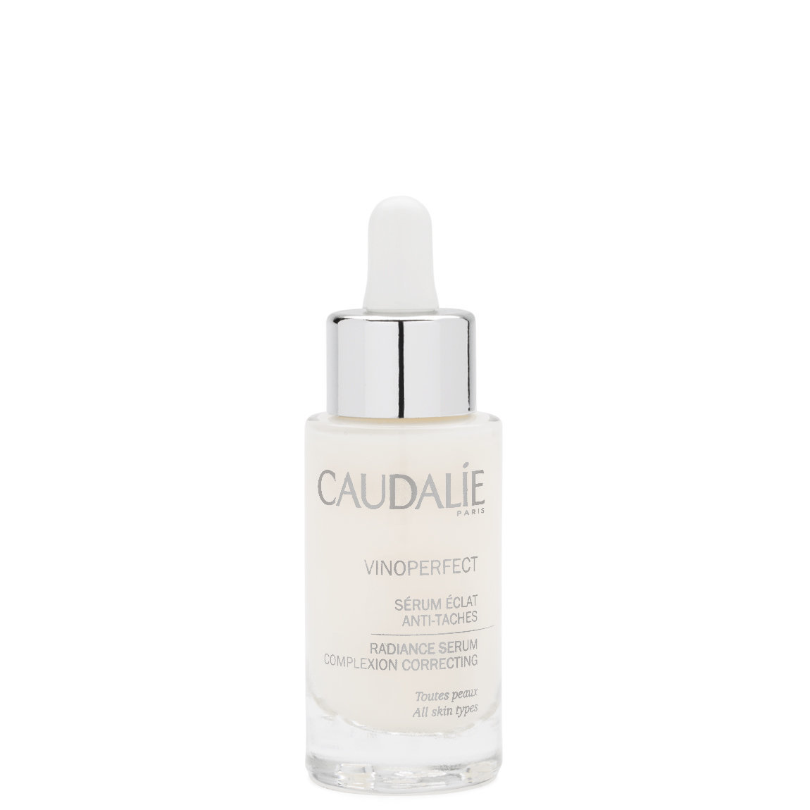 Caudalie Vinoperfect Radiance Serum product swatch.