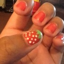 Strawberry Nails 🍓