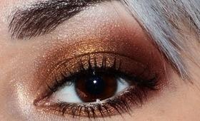 Sultry bronze bedroom eyes make up tutorial