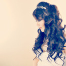 Lush, Princess Curly Hairstyle Tutorial for Long Hair |  Prom Wedding Bridal