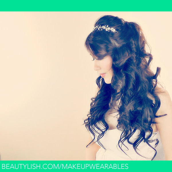 Wedding Hairstyle For Long Hair Tutorial: Lush, Princess Curly Hairstyle Tutorial For Long Hair