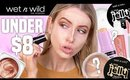 Testing New WET N WILD Makeup Under $8...