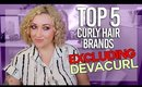 No Devacurl Drama Here! Top 5 Curly Hair Brands I Use & Love