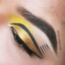 Graphic Yellow and Gold
