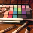 New e.l.f. pallette for practice & play ;-)