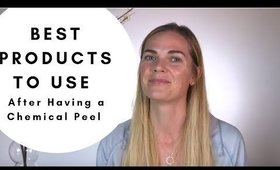 Chemical Peel Aftercare: How to care for your skin after having a peel!