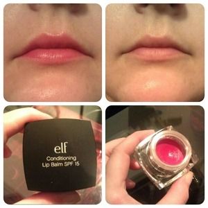 I got this lip balm as a free gift when i bought somthing from e.l.f's online shop, and im in love with it! The balm is highly pigmented and makes my lips look healthy and natural. The color isnt to shiny and its smooth and go on easy, and last a long time! I got the color Romantic i belive its called, but i am buying every singel color :)