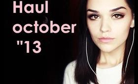 "Haul | october ""13"