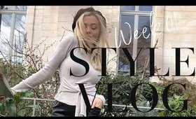 STYLE VLOG WEEK 01 // OOTD'S, Defining Your Style, & How I Reduce Bloating
