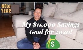 My $11,000 Savings Goal for 2020 | Simply Ashley