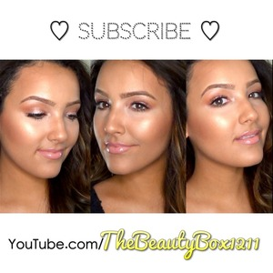 Dewy skin tutorial. Make sure to subscribe!