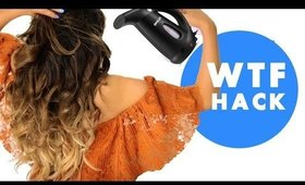 ★ EASY CURLS Using Clothes STEAMER Hacks 💋 HAIRSTYLES |