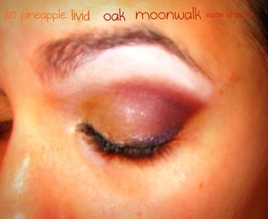 fall look using beauty from the earth pigments