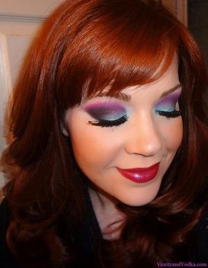 A fun makeup look I did inspired by my aquarium :-) http://www.vanityandvodka.com/2013/02/aquarium-eyes-2013-with-sugarpill.html