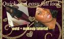 Update + Makeup tutorial + ootd = I'M BACK ♥