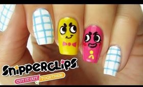 SNIPPERCLIPS NAIL ART | CutePlay Countdown #3!