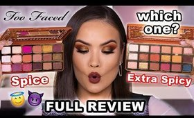NEW* TOO FACED GINGERBREAD PALETTE SPICE + EXTRA SPICY REVIEW   Maryam Maquillage