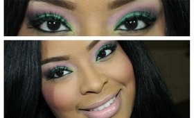 Springtime Green: A Colorful Spring Makeup Tutorial