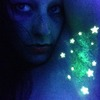 Glitz Your Pitz! glow in the dark armpit hair