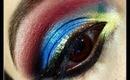 Tropical Nights Eye Makeup Tutorial