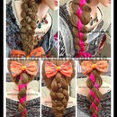 1 Braid With 5 Different Styles