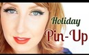 Holiday Pin Up! - Lily Allen 'Hard Out Here' Inspired Makeup Tutorial