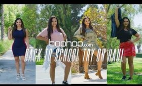 boohoo Back to School Try On Haul | MISSSPERU
