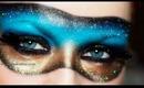 Venice Carnival Mask makeup (Collaboration with Smashinbeauty)