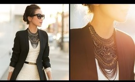 Pairings: Statement Necklaces