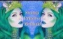 Swamp Princess Tutorial | Mermaid Collab with Jackyohhh & RebeccaShoresMUA