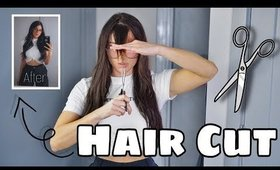 HAIRCUT TUTORIAL AT HOME